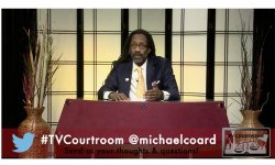 photo - Michael Coard - Television Courtroom