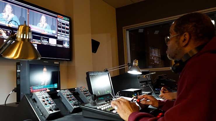 photo - control room with crew