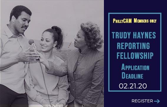 Trudy Haynes Reporting Fellowship Application Deadline 2/21/20