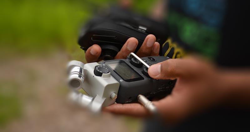 photo of zoom recorder