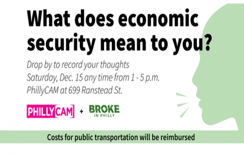 poster - what does economic security mean to you