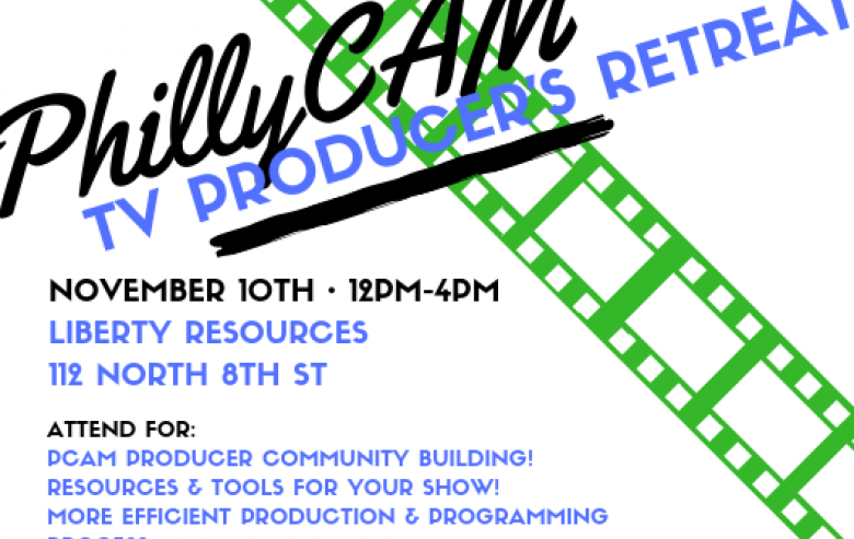 poster - Producers Retreat Nov. 8, 2018 12pm - 4pm