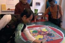 5 on the Go: Tibetan Sand Mandala