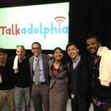 Talkadephia host Gino Barrica Kishwer Vikaas with guests Jeff Hsu and Yis Goodwin