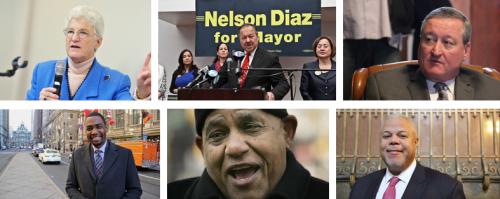 2015 mayoral candidates