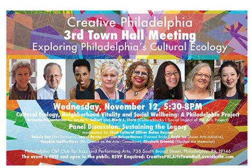 Creative Philadelphia 3rd Town Hall Meeting