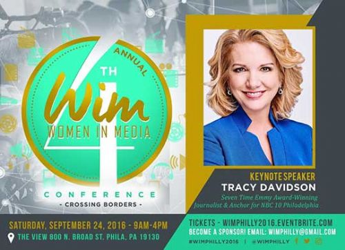 Tracy Davidson Keynote Speaker at Women in Media Conference 2016