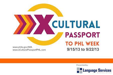 Cultural Passport to PHL Week