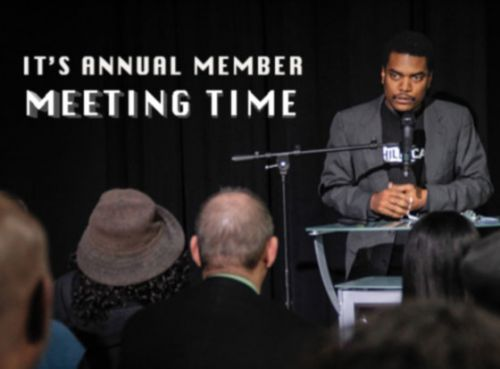 It Annual Member Meeting Time March 30, 2017