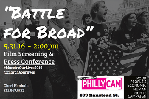 Battle for Broad Film Screening and Press Conference March 31 2pm