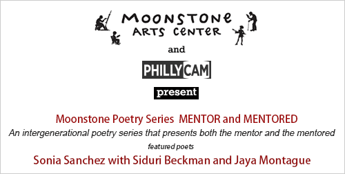 Moonstone Poetry Series Present Sonia Sanchez with Siduri Beckman & Jaya Montague