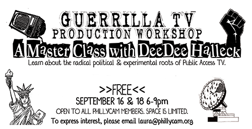Guerrilla TV Production Workshop