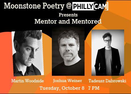Moonstone Poetry Present Joshua Weiner Martin Woodside Tadeusz Dabrowski