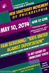 Kids United Against Deportation Free Screening Poster