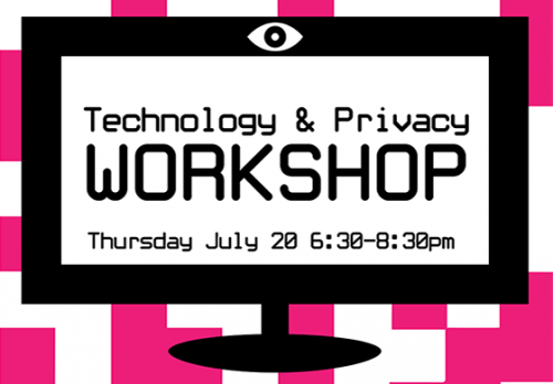 Privacy Workshop July 20, 2017 6:30 - 8:30 pm