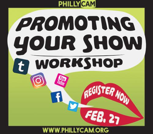 Promoting Your Show Workshop logo