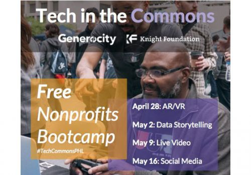 Tech in the Commons Free Nonprofit Bootcamp
