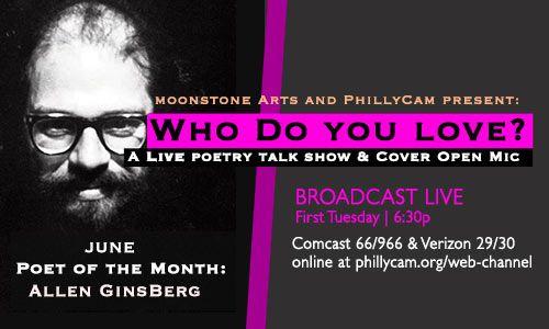 Who Do You Love? Allen Ginsberg