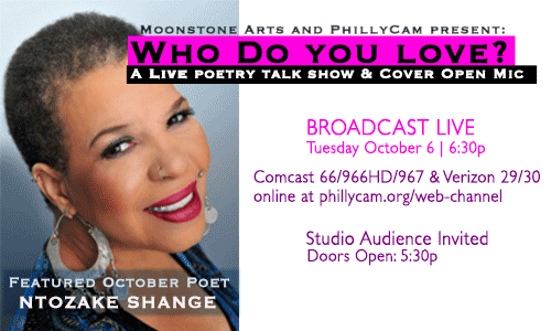 Who Do You Love? Ntozake Shange September 6, 2015 6:30