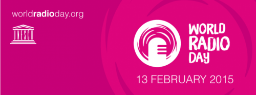 World Radio Day Logo Event Date February Day 13, 2015