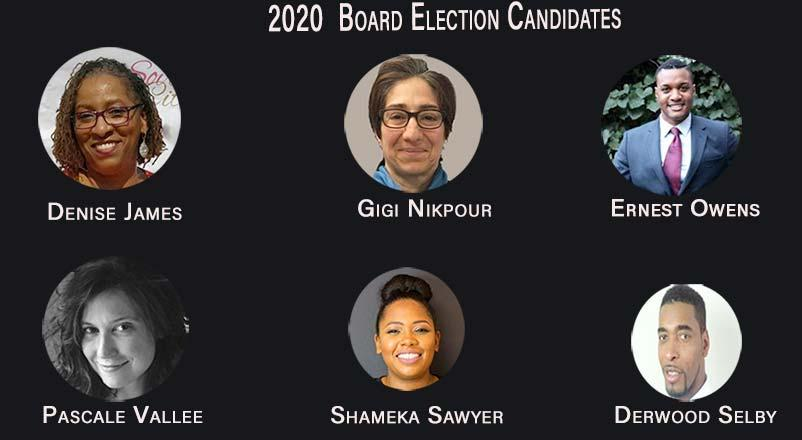 2020 Election Board Candidates