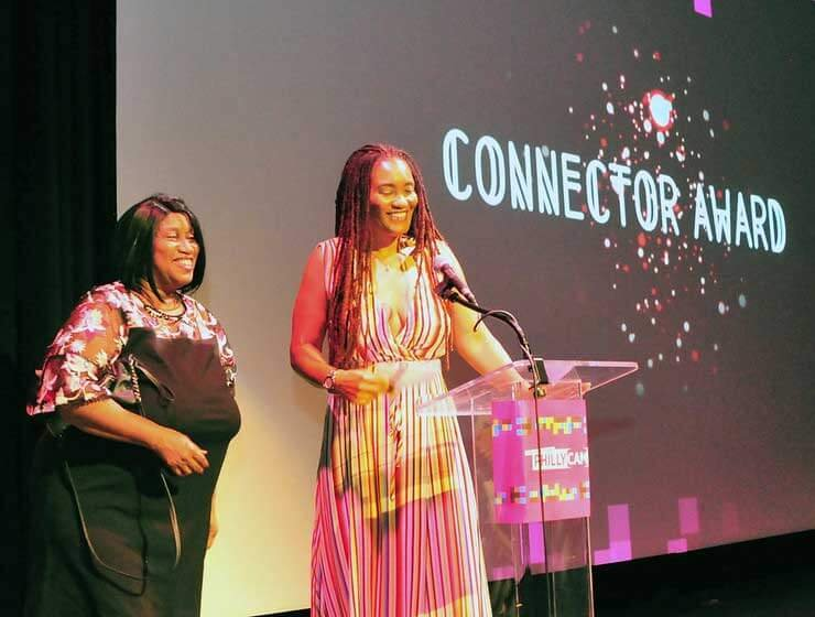 photo - Cammy Awards 2019 Rhonda Gibson and Connie Komm