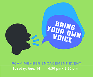 graphic - Bring Your Own Voice, August 14 6:30 pm