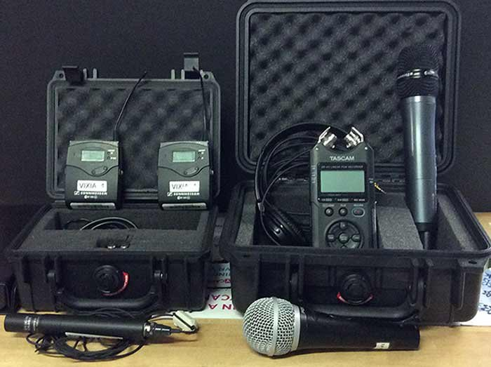 photo - microphone kit