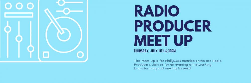 Radio Producer Meetup