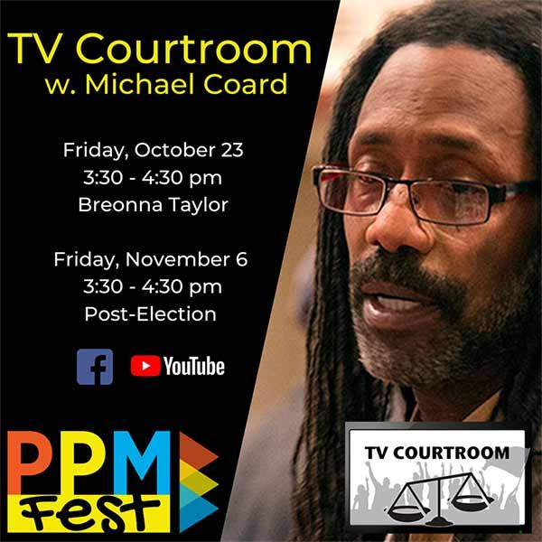 TV Courtroom with Michael Coard Fridays at 3:30 PM