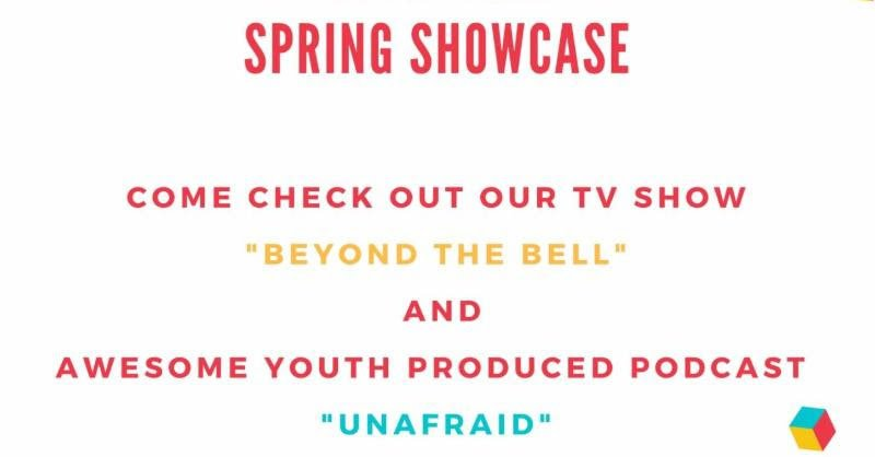 poster - Youth Media Spring Showcase