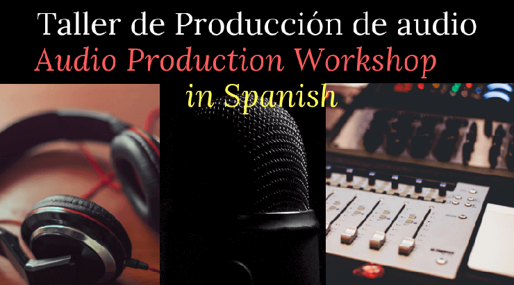 poster - audio production equipment