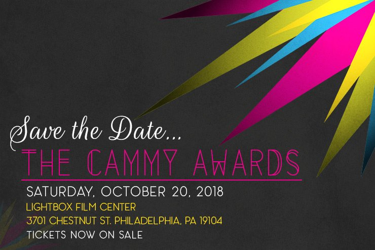 poster - Cammy Awards 0ctover 20, 2018 6:30 pm