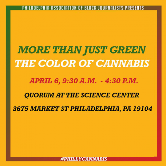 More Than Just Green, The Color of Cannabis Quorum 4/6/19 9am