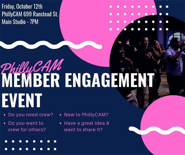 poster - Member Engagement Meetup Friday, October 12, 2018
