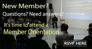 link to member orientation sign-up