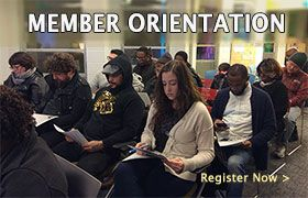 Member Orientation Register Now