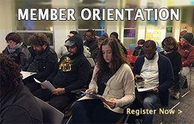 Member Orientation Register Now