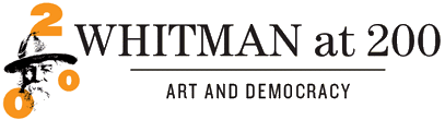 logo - Walt Whitman at 200