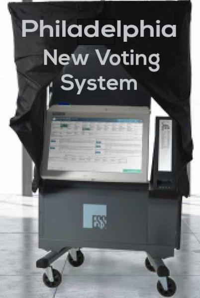 photo- philadelphia new voting machines