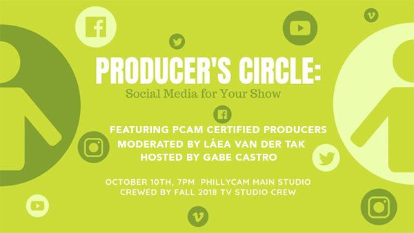 poster - Producer Circle Oct. 10, 2018