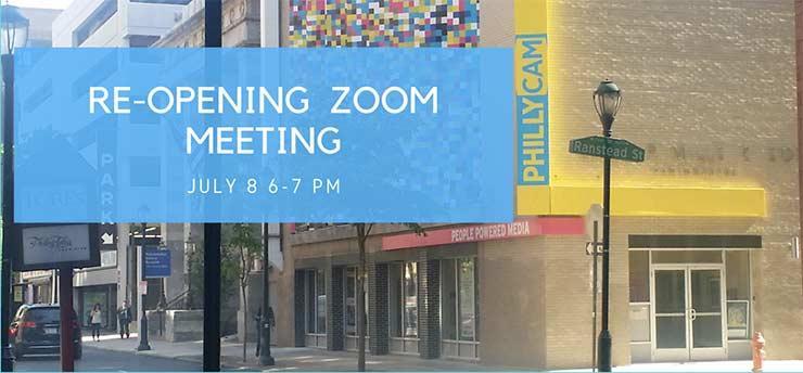 re-opening zoom meeting