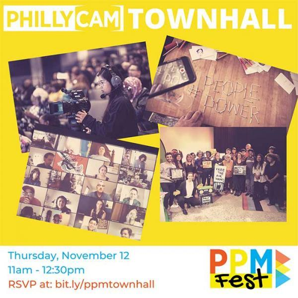 PhillyCAM Town Hall Nov.12, 11 am - noon