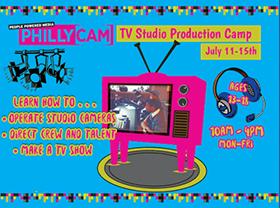 TV Studio Production Camp July 11-15