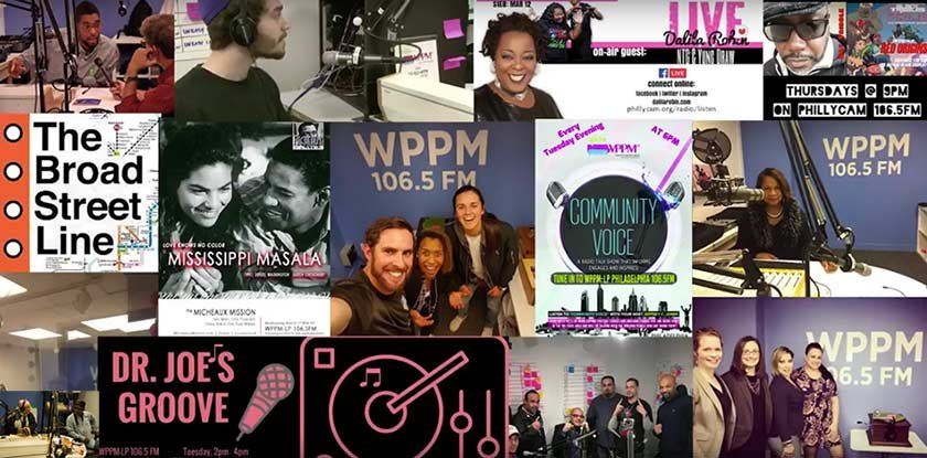 wppm radio shows collage