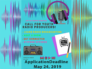 graphic- youth radio workshop summer 2019