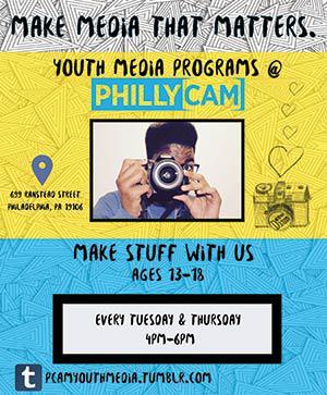 Youth Media Programs Tuesdays and Thursdays 4-6pm