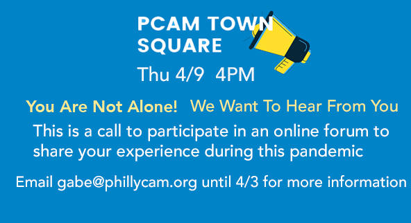 PCAM Town Hall 4/9/2020 4pm