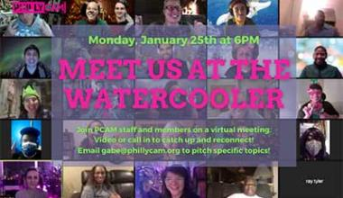 Meet Us At The Watercooler January 25, 2021 6 pm