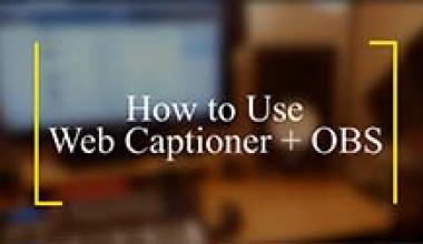 Free Automatic Captioning!